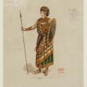 Costume de Radamès par Auguste Mariette