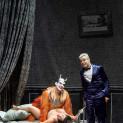 Marcel Beekman (Aristée / Pluton), Kathryn Lewek (Eurydice), Max Hopp (John Styx) - Orphée aux Enfers par Barrie Kosky