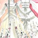 Lucia di Lammermoor - Maquettes costumes