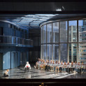 Alexander Tsymbalyuk (Le Commandeur) et Karine Deshayes (Donna Elvira) - Don Giovanni par Michael Haneke