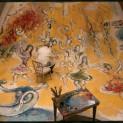 Marc Chagall travaillant pour le Plafond de l'Opéra de Paris