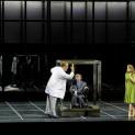 Bryn Terfel (Méphistophélès), Sophie Koch (Marguerite) et Jonas Kaufmann (Faust) dans La Damnation