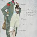 Costume de Don Magnifico pour La Cenerentola