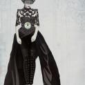 Costume pour la robe de bal de la Cenerentola
