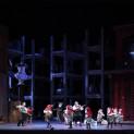 Gerald Finley (Hans Sachs), Bo Skovhus (Sixtus Beckmesser) et Julia Kleiter (Eva) - Les Maîtres Chanteurs de Nuremberg par Stefan Herheim