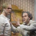 Gerald Finley (Hans Sachs) et Brandon Jovanovich (Walther von Stolzing) - Les Maîtres Chanteurs de Nuremberg par Stefan Herheim