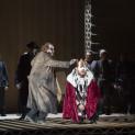 Mikhail Kolelishvili (Il Conte di Monterone), Pascal Lifschutz (Double de Rigoletto), Quinn Kelsey (Rigoletto)