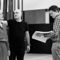 Répétitions de Lear avec Calixto Bieito et Erika Sunnegardh
