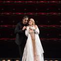 Kate Aldrich et Roberto Tagliavini dans les Contes d'Hoffmann
