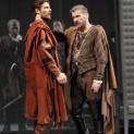 Julien Dran et Nicolas Courjal dans I Capuletti e i Montecchi par Nadine Duffaut