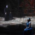 Dimitris Tiliakos (Amonasro), Adina Aaron (Aida) - Aida par Stathis Livathinos