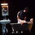 Davide Giusti et Giuliana Gianfaldoni dans La Nuit d'un neurasthénique