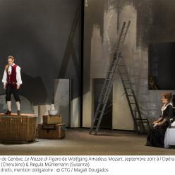 Nicole Cabell & Regula Mühlemann - Les Noces de Figaro par Tobias Richter
