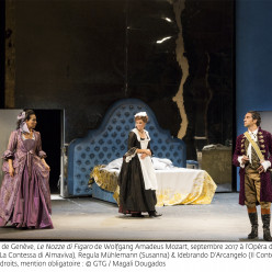 Nicole Cabell, Regula Mühlemann & Ildebrando D'Arcangelo - Les Noces de Figaro par Tobias Richter
