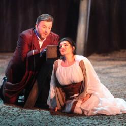 Anna Kasyan et Marc Laho dans Norma