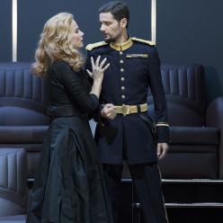 Répétitions Don Carlos par Warlikowski - Elīna Garanča et Julien Dran