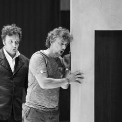 Répétitions Don Carlos par Warlikowski - Jonas Kaufmann et Ludovic Tézier