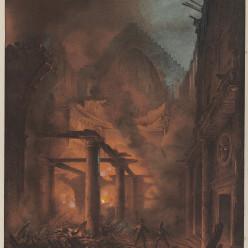 Incendie de la première salle Favart le  15 janvier 1838