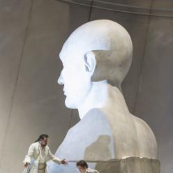 Ramón Vargas et Stéphanie d'Oustrac - La Clémence de Titus par Willy Decker
