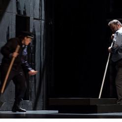 Claudia Iten (Léonore) et Christian Hübner (Rocco) - Fidelio par Philippe Miesch