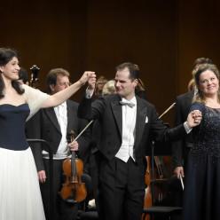 Anja Harteros et Constantin Trinks dans Arabella