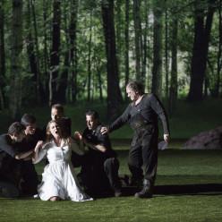 Jacquelyn Wagner et Rodolphe Briand dans la Flûte enchantée