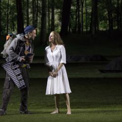 Bjorn Bürger et Camilla Tilling dans la Flûte enchantée