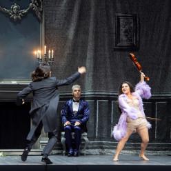 Joel Prieto (Orphée), Max Hopp (John Styx), Kathryn Lewek (Eurydice) - Orphée aux Enfers par Barrie Kosky