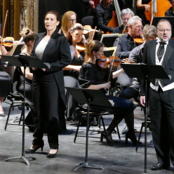 Marie-Ange Todorovitch et Jean-Pierre Furlan dans La Reine de Saba