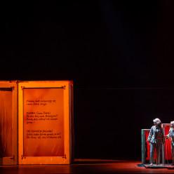 La Flûte enchantée par Cécile Roussat, Julien Lubek
