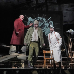 Gerhard Siegel, Peter Mattei & Christian Van Horn - Wozzeck par William Kentridge