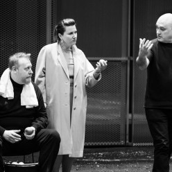 Iain Paterson, Ekaterina Gubanova & Calixto Bieito - L'Or du Rhin par Calixto Bieito en répétitions