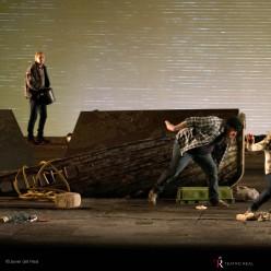 Saul Esgueva, John Graham-Hall, Allan Clayton & Maria Bengtsson - Peter Grimes par Deborah Warner