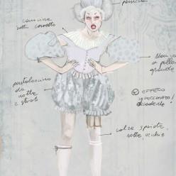 Costumes de Clorinda pour La Cenerentola