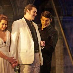 Bizic, Durkan et Nicorescu dans Don Giovanni