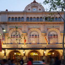 Façade du Grand Théâtre du Liceu