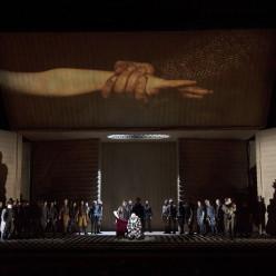 Rigoletto mis en scène par Claus Guth
