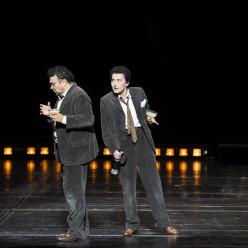 Ramon Vargas et Stéphanie d'Oustrac dans les Contes d'Hoffmann