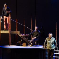 Nathanaël Kahn, Paul-Alexandre Dubois et Christophe Crapez dans The Lighthouse par Alain Patiès