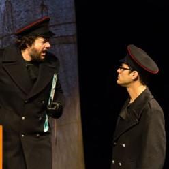 Christophe Crapez et Nathanaël Kahn dans The Lighthouse par Alain Patiès