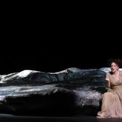 Gaston Rivero (Radamès), Nora Gubisch (Amneris), Adina Aaron (Aida) - Aida par Stathis Livathinos