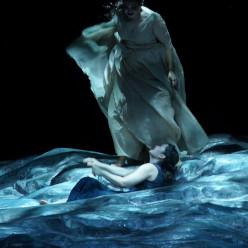 Monica Zanettin (Aida) ; Ksenia Dudnikova (Amneris) - Aida par Stathis Livathinos