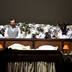 Bruno Taddia dans La Nuit d'un neurasthénique