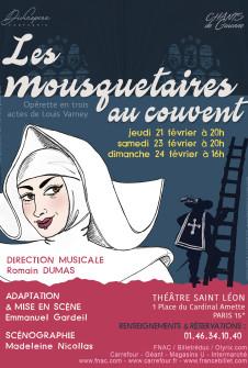 Les Mousquetaires au couvent de Louis Varney, du 27 Septembre 2018 au 24 Février 2019, Divinopera