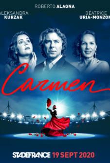Carmen de Georges Bizet, le 19 Septembre 2020, Stade de France