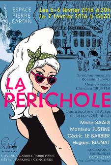 La Périchole de Jacques Offenbach, du 5 Février 2016 au 7 Février 2016, Divinopera