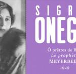 Top 10 des contraltos : Sigrid Onegin