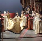 Le couronnement du Tsar