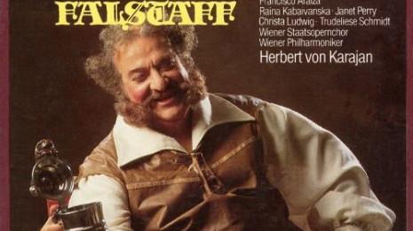 Falstaff de Verdi - Taddei, Kabaivanska, Ludwig, Karajan, 1982 (intégrale)