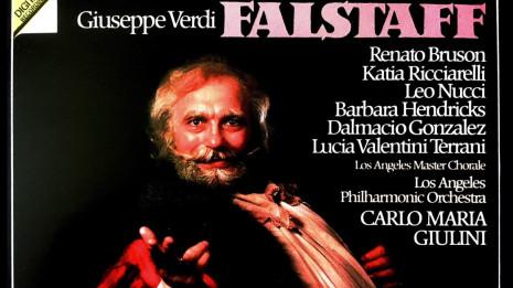Falstaff de Verdi à Londres, 1982 (intégrale)